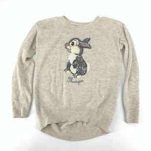 Gap X disney Thumper Sequin Sweater Bambi